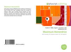 Обложка Maximum Homerdrive