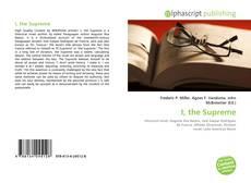 I, the Supreme kitap kapağı