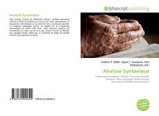 Couverture de Analyse Syntaxique