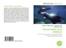 Capa do livro de Animal Rights Zone (ARZone)