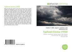 Capa do livro de Typhoon Emma (1956)