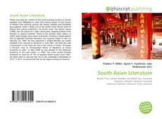 South Asian Literature kitap kapağı