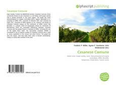 Borítókép a  Cesanese Comune - hoz
