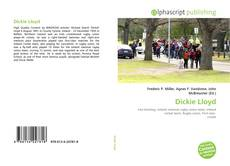 Dickie Lloyd kitap kapağı