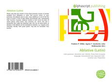 Bookcover of Ablative (Latin)
