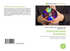 Borítókép a  Gestion des Droits Numériques - hoz