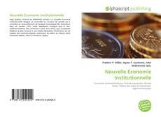 Buchcover von Nouvelle Économie Institutionnelle
