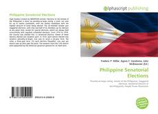 Bookcover of Philippine Senatorial Elections