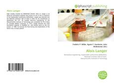Capa do livro de Alois Langer
