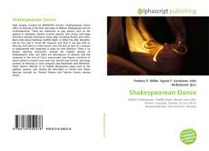 Couverture de Shakespearean Dance