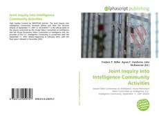 Bookcover of Joint Inquiry Into Intelligence Community Activities