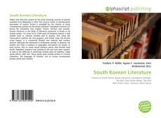 South Korean Literature kitap kapağı