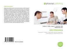 Bookcover of Job Interview