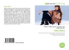 Couverture de Max Mara