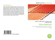Bookcover of Erika Anderson