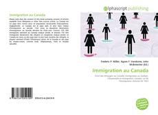 Immigration au Canada的封面