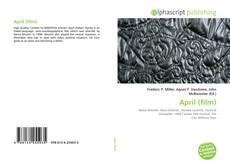 Capa do livro de April (film)