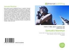 Portada del libro de Samudra Manthan