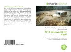Buchcover von 2010 Gascoyne River Flood