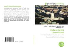 Bookcover of Indian Claims Commission