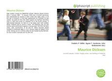 Couverture de Maurice Dickson