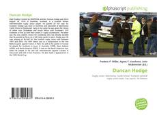 Buchcover von Duncan Hodge