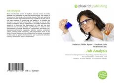 Bookcover of Job Analysis