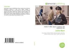 Обложка Julia Barr