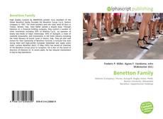 Capa do livro de Benetton Family