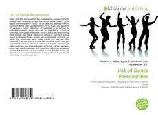 Bookcover of List of Dance Personalities