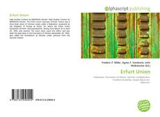 Portada del libro de Erfurt Union