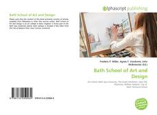 Bookcover of Bath School of Art and Design
