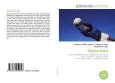 Bookcover of Coppa Italia