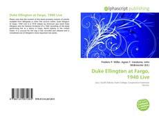 Copertina di Duke Ellington at Fargo, 1940 Live