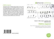 Borítókép a  Elektra (opera) - hoz