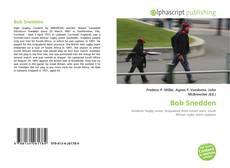 Bob Snedden kitap kapağı