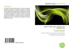 Bookcover of Castration