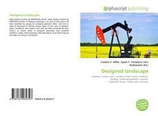 Copertina di Designed landscape