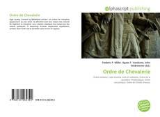 Capa do livro de Ordre de Chevalerie