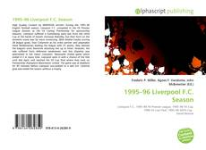 Bookcover of 1995–96 Liverpool F.C. Season