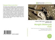 Copertina di Mongols (Motorcycle Club)
