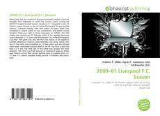 Portada del libro de 2000–01 Liverpool F.C. Season