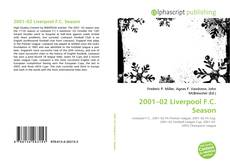Bookcover of 2001–02 Liverpool F.C. Season