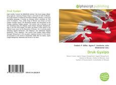 Copertina di Druk Gyalpo