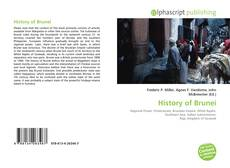 Bookcover of History of Brunei