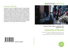 Economy of Brunei kitap kapağı
