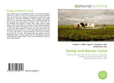 Bookcover of Sandy and Beaver Canal