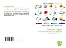 Bookcover of Forecast region