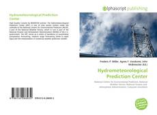 Capa do livro de Hydrometeorological Prediction Center