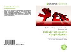 Buchcover von Institute for Economic Competitiveness
